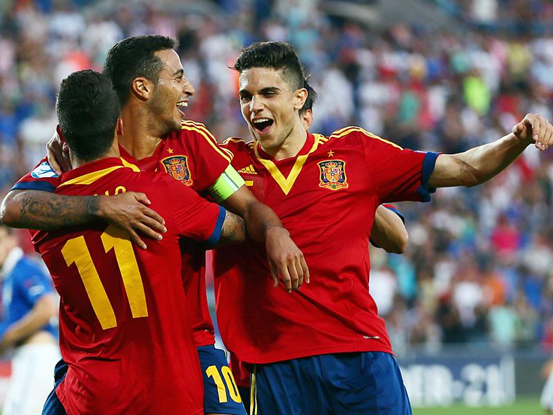 Torschützen Spanien