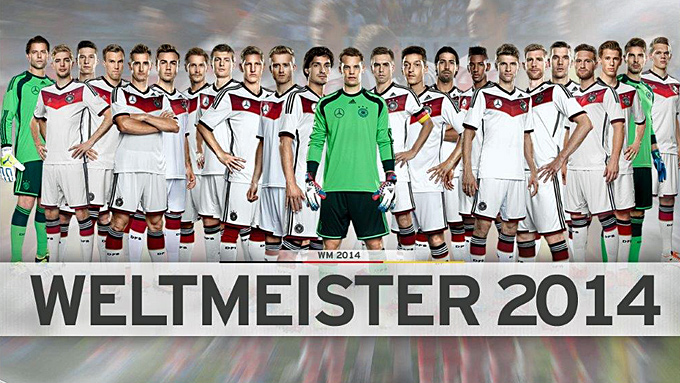 Weltmeister 2017 Deutschland